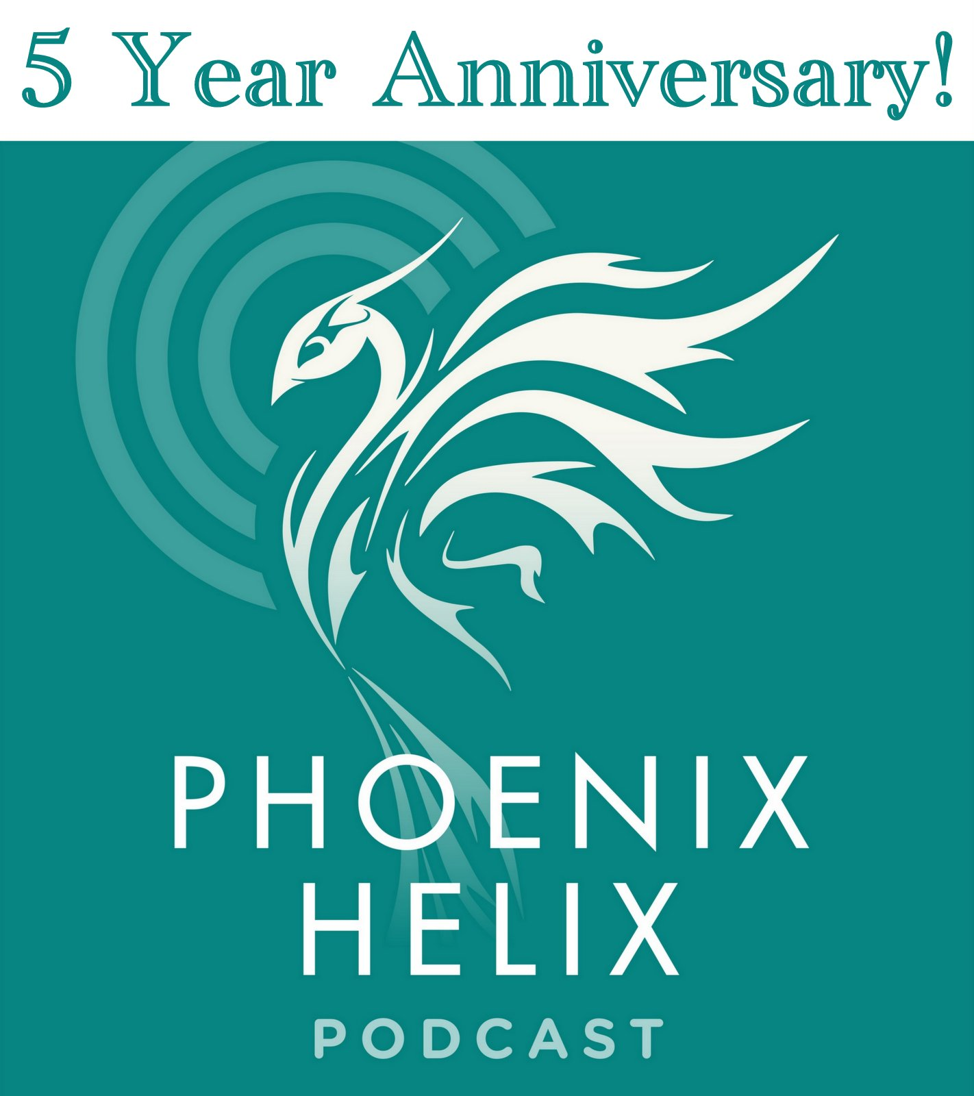 5 Year Podcast Anniversary Giveaway | Phoenix Helix