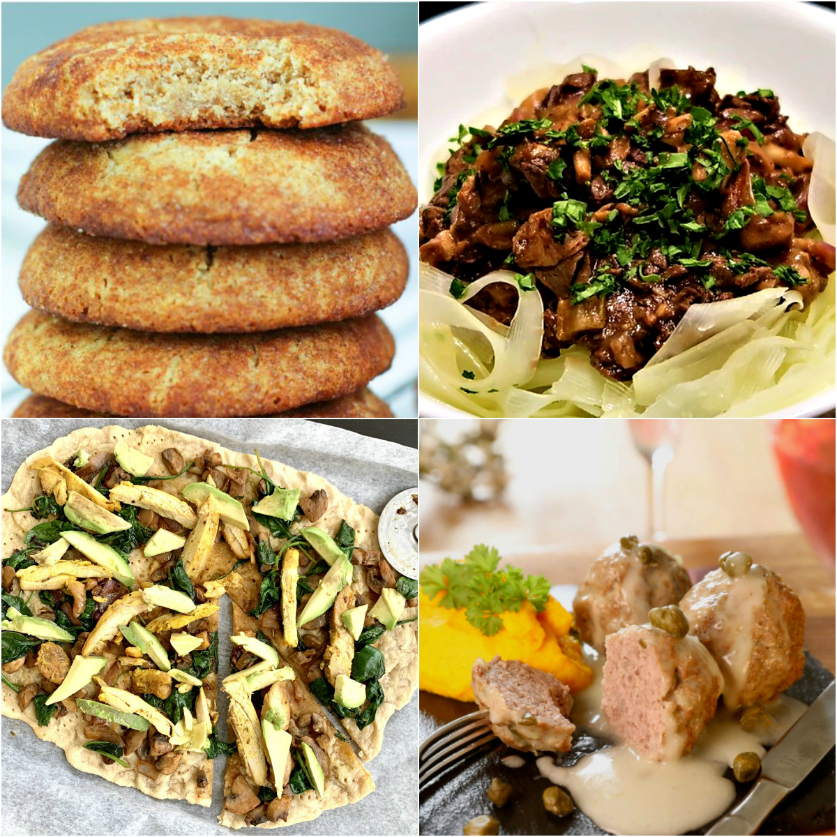 Paleo AIP Recipe Roundtable #312: The featured recipes from last week are Snickerdoodles, Pizza Crust, Beef Stroganoff, and Konigsberg Meatballs with Caper Sauce