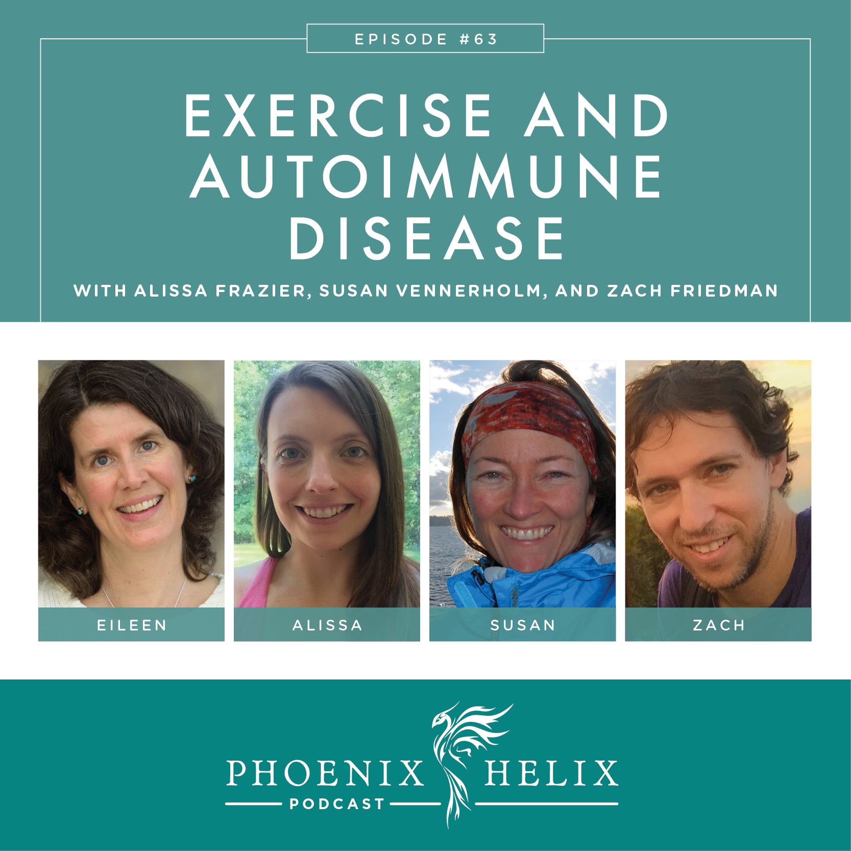 Best of the Phoenix Helix Podcast: Exercise and Autoimmune Disease