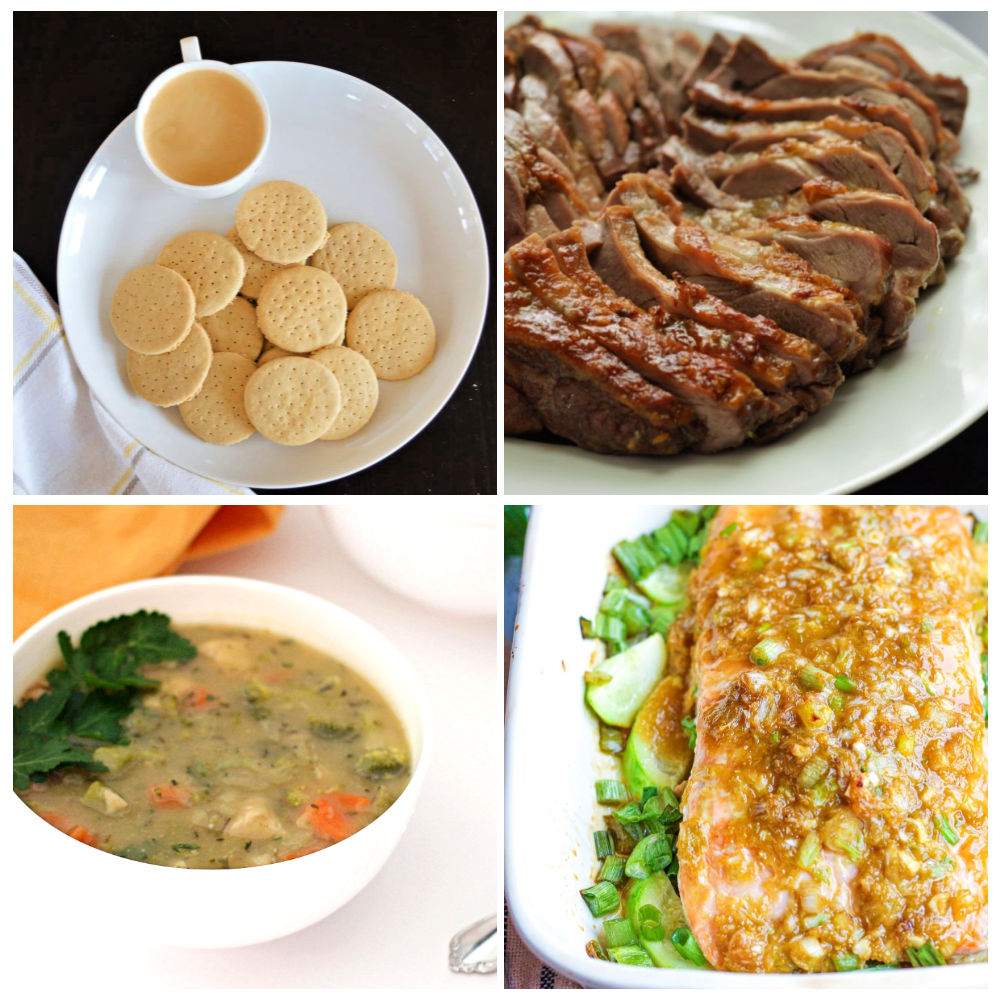 Paleo AIP Recipe Roundtable #316   Phoenix Helix - *Featured Recipes: Marie Biscuits, Chicken Pot Pie Soup, Easy Roast Lamb, and Ginger-Lime Salmon