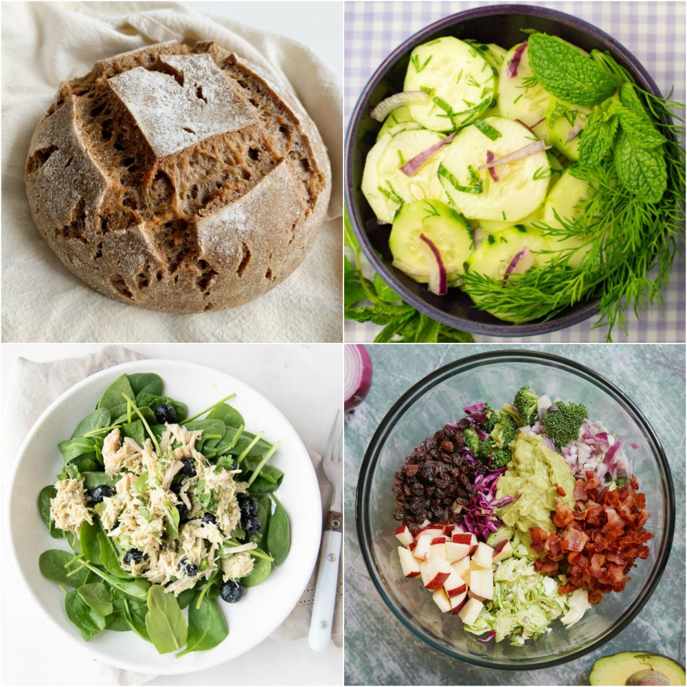 Paleo AIP Recipe Roundtable #318 | Phoenix Helix - *Featured Recipes: Sourdough Bread, Chicken Salad Lunch, Bright Cucumber Salad, and No Mayo Broccoli Salad