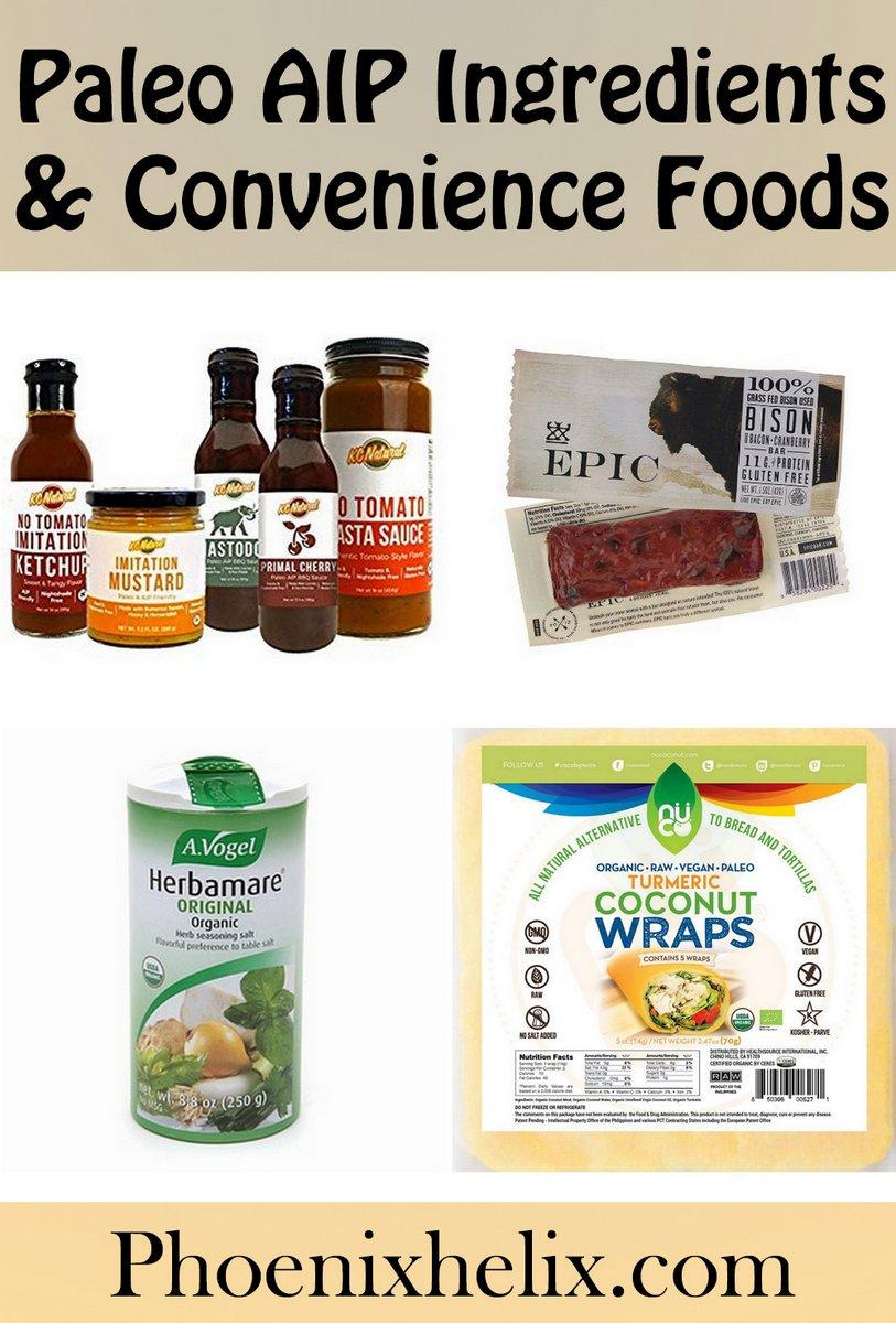 Paleo AIP Ingredients & Convenience Foods | Phoenix Helix