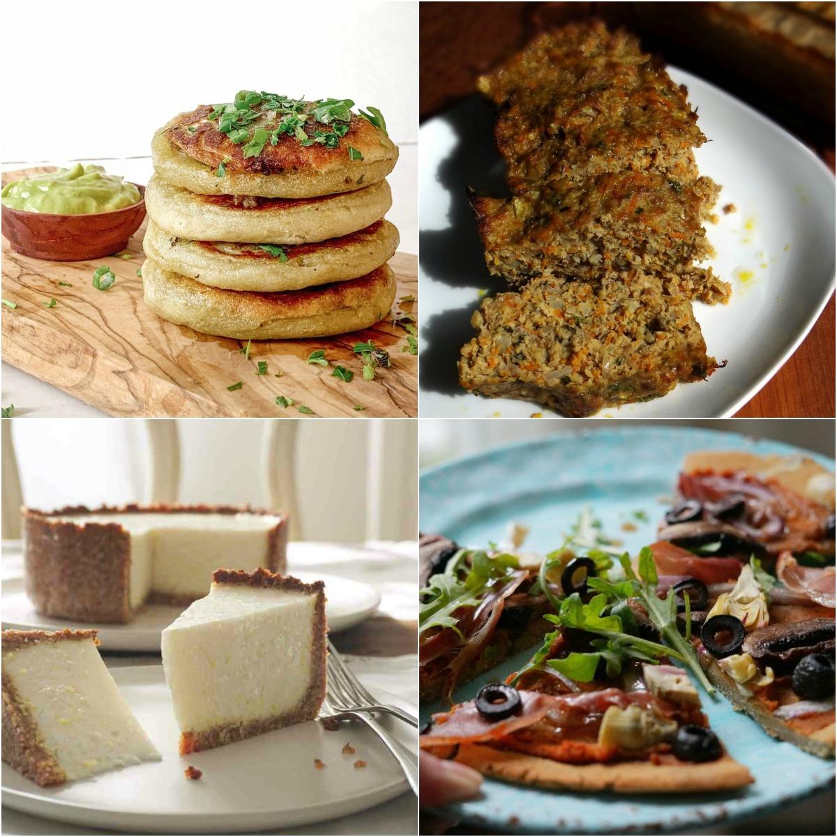 Paleo AIP Recipe Roundtable #324 | Phoenix Helix - *Featured Recipes: Stuffed Sweet Potato Cakes, Lemon Tart, Magic Meatloaf, and Mediterranean Flatbread Pizza