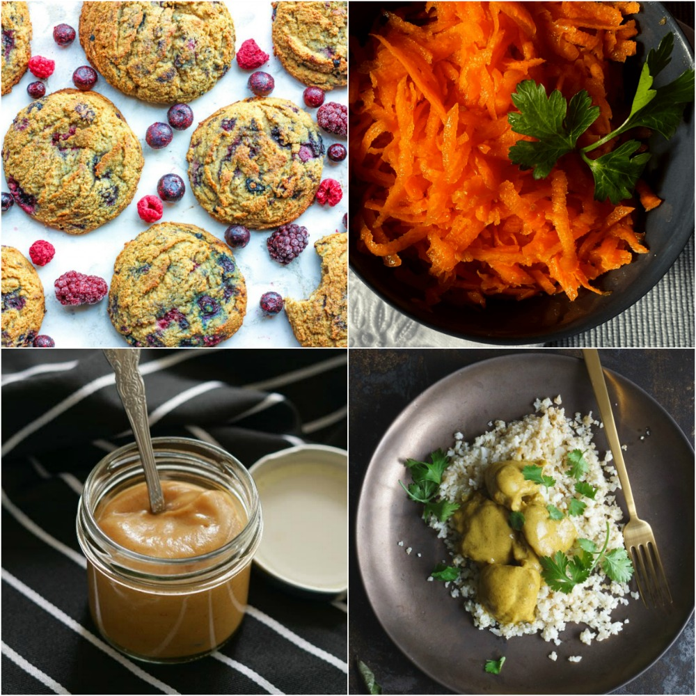 "Paleo AIP Recipe Roundtable #325 | Phoenix Helix - *Featured Recipes: Mixed Berry Breakfast Cookies, Nightshade-Free BBQ Sauce, Simple Carrot Salad, and Chicken and Apple Curry with Cauli ""Rice"""
