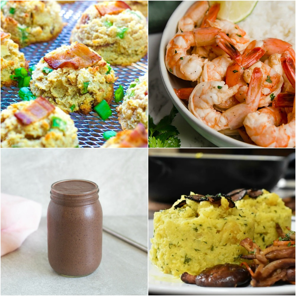 "Paleo AIP Recipe Roundtable #327 | Phoenix Helix - *Featured Recipes: Bacon Apple Breakfast Cookies, Nutrient-Dense Smoothie, Honey Lime Shrimp, and Cauliflower Shrimp ""Risotto"" with Mushrooms & Black Truffles"