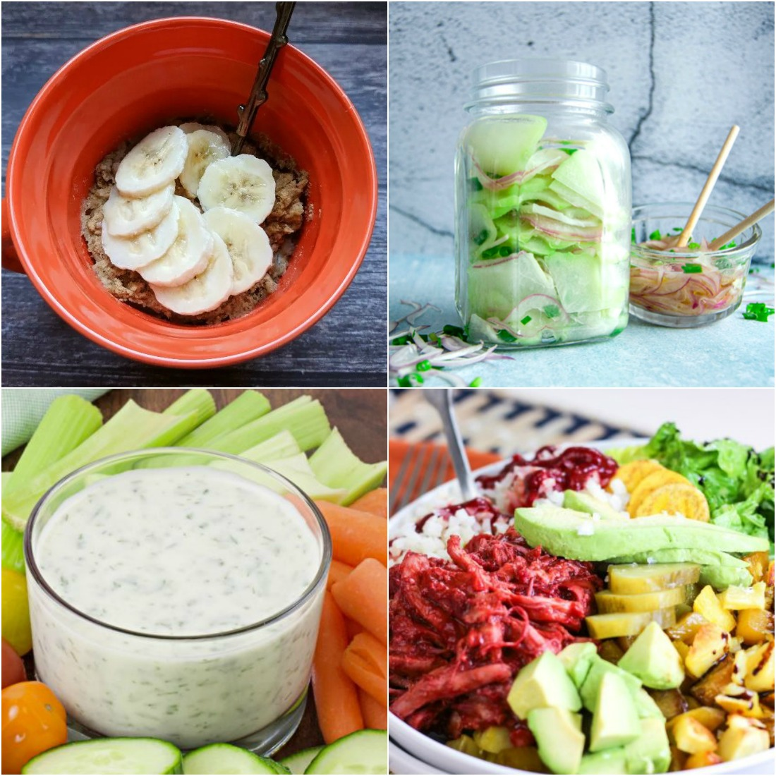 Paleo AIP Recipe Roundtable #329 | Phoenix Helix - *Featured Recipes: Homemade Ranch Dip, Summer Chayote Squash Salad, BBQ Chicken Salad Bowl, and 109 Breakfast Recipes