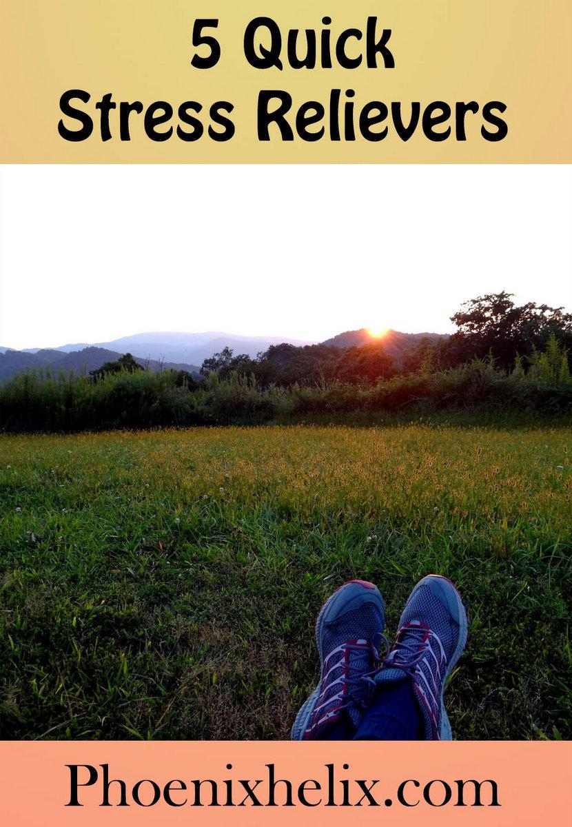 5 Quick Stress Relievers | Phoenix Helix