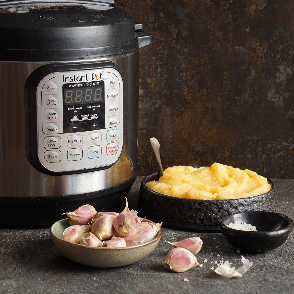 Instant Pot Garlicky Mashed Rutabaga | Phoenix Helix