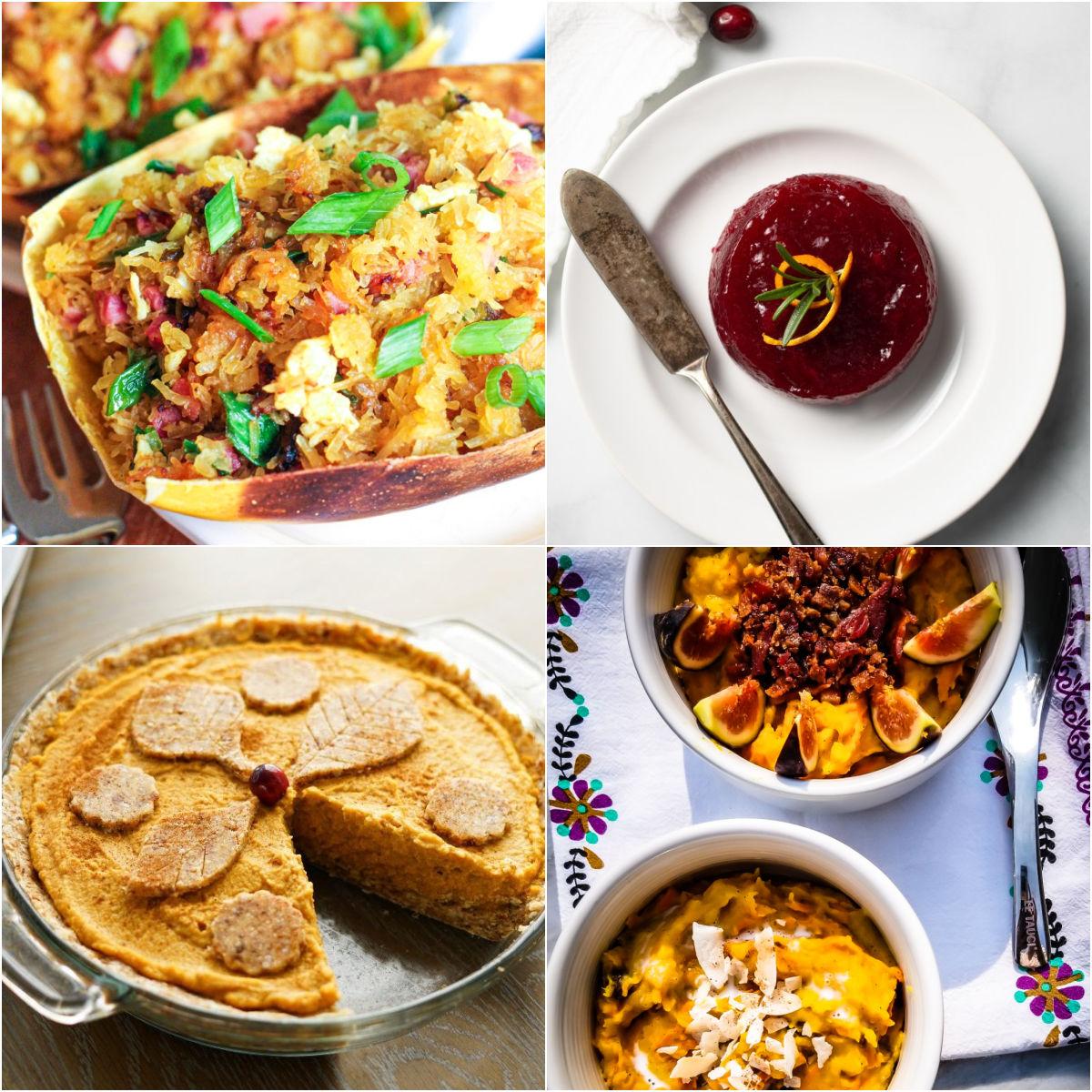 "Paleo AIP Recipe Roundtable #345 | Phoenix Helix - *Featured Recipes: Spaghetti Squash Fried ""Rice"", Pumpkin Pie, Jellied Cranberry Sauce, and Acorn Squash Porridge"