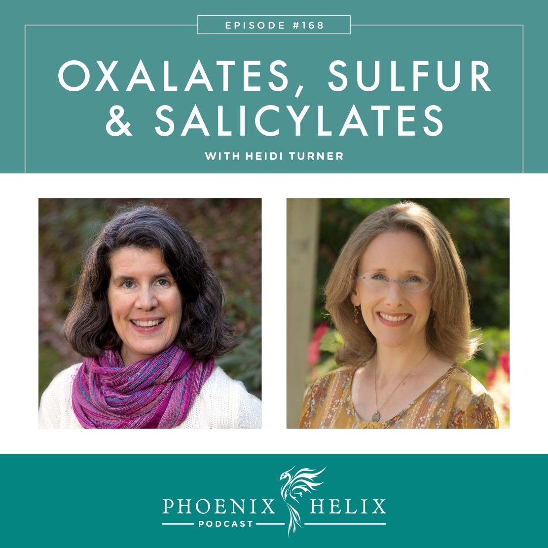 Oxalates, Sulfur, and Salicylate Sensitivities with Heidi Turner, RD | Phoenix Helix Podcast