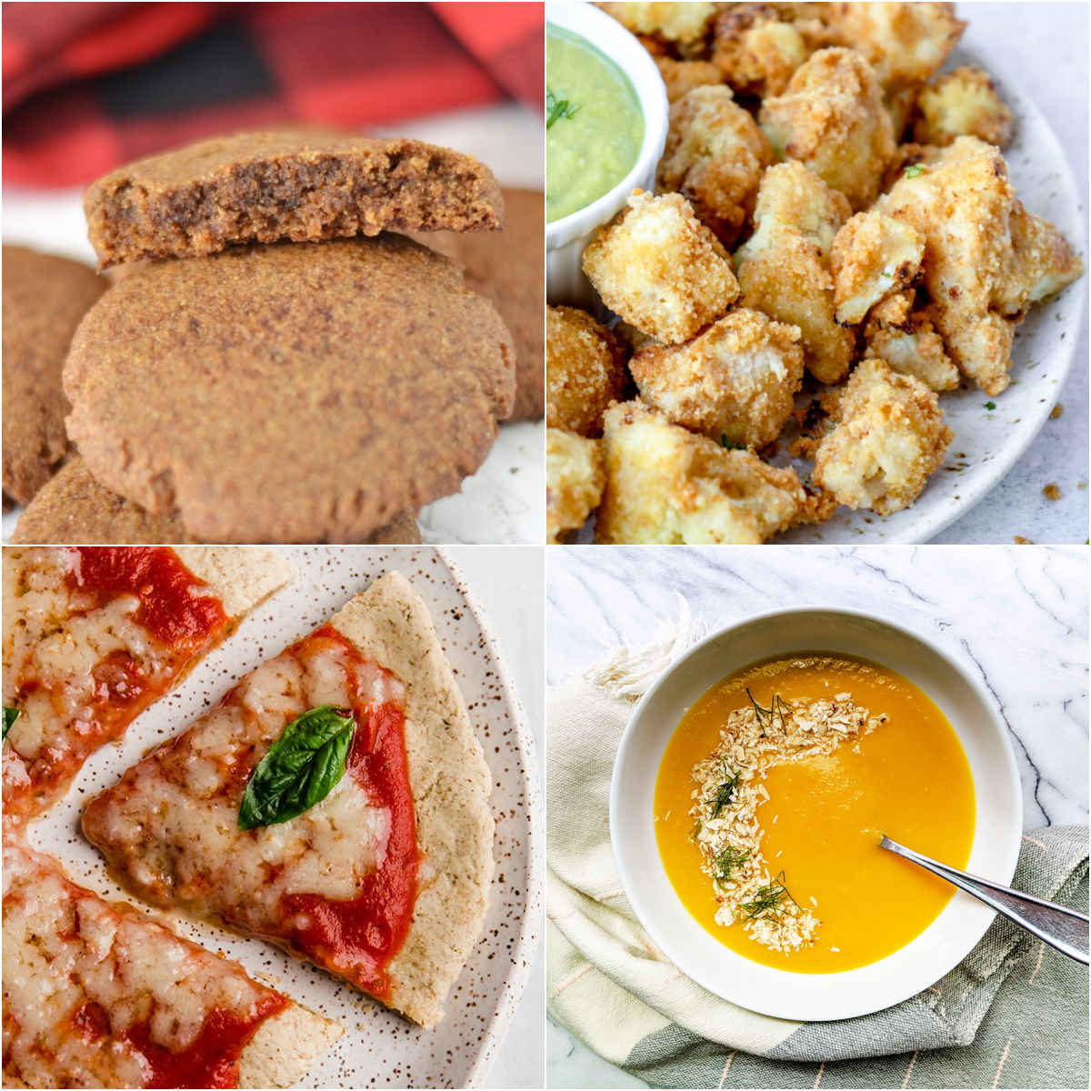 Paleo AIP Recipe Roundtable #355 | Phoenix Helix - *Featured Recipes: Ginger Cookies, Tigernut Flour Pizza Crust, Air Fryer Cauliflower Bites, and Simple Roasted Carrot & Fennel Soup.