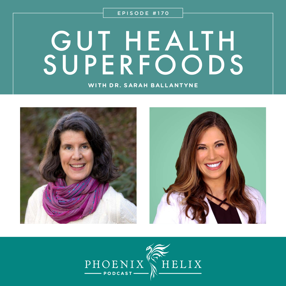 Gut Health Superfoods with Dr. Sarah Ballantyne | Phoenix Helix Podcast