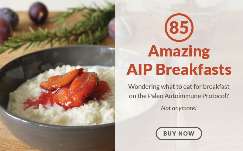 Ad: 85 Amazing AIP Breakfasts E-Cookbook - Buy Now