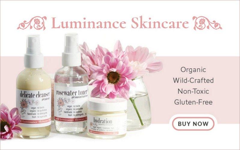 Ad: Luminance Non-Toxic, Gluten-Free Skincare - Buy Now