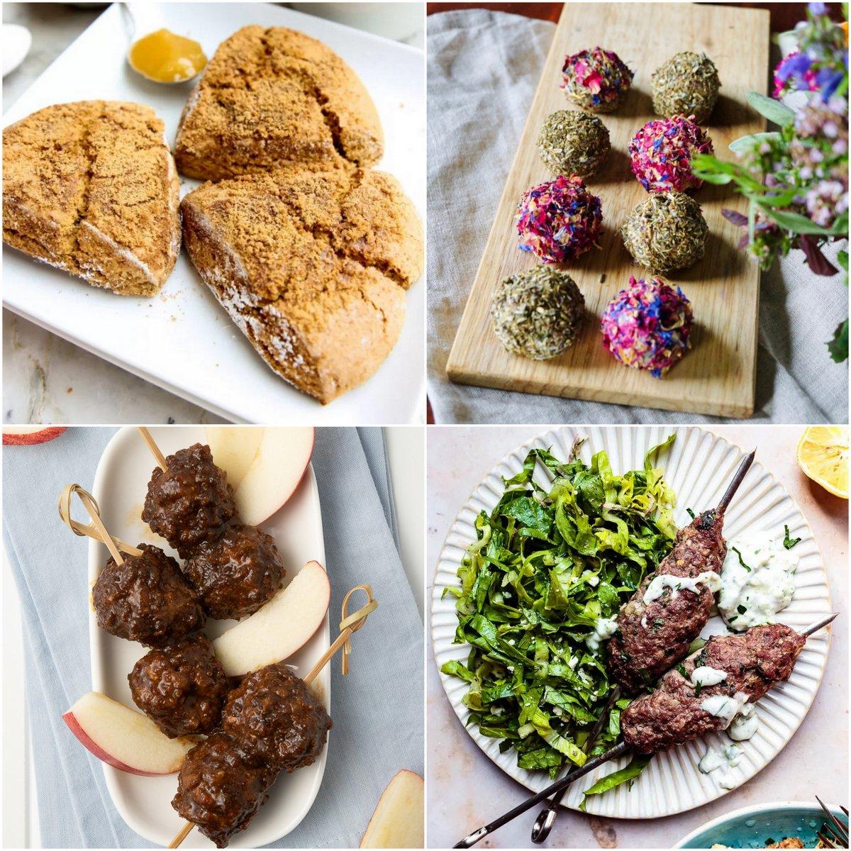 "Paleo AIP Recipe Roundtable #388 | Phoenix Helix - *Featured Recipes: Pumpkin Scones, Creamy Labneh ""Cheese"", Apple Pork BBQ Meatballs, and Baked Greek Kofta Kebabs with Tazatziki."